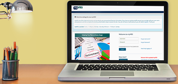 Select Your Retirement Plan Online in myVRS
